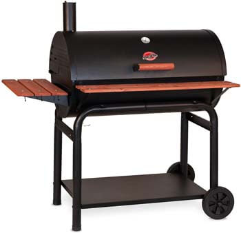 5. Char-Griller 2137 Outlaw 1063 Square Inch Charcoal Grill / Smoker