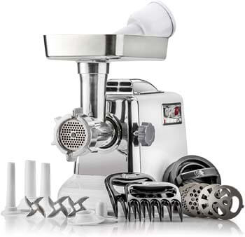 7. The Heavy-Duty STX Megaforce Classic 3000 Series Air Cooled Electric Meat Grinder