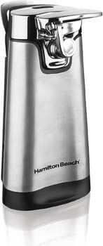 7. Hamilton Beach Electric Can Opener 76777