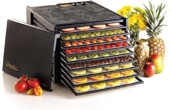 4. Excalibur 3926TB 9-Tray Electric Food Dehydrator