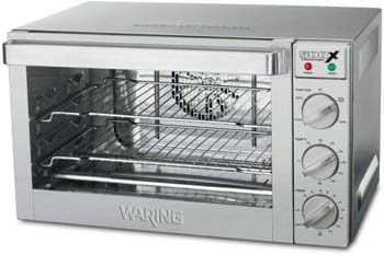 2. Waring Commercial WCO500X 1/2-Sheet Pan Sized Convection Oven
