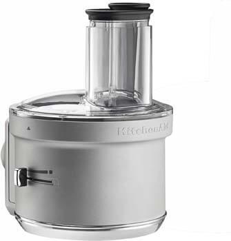 6. KitchenAid KSM2FPA Food Processor Attachment, Dicing Kit, Silver
