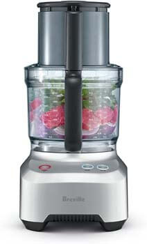 8. Breville BFP660SIL Sous Chef 12 Cup Food Processor, Silver