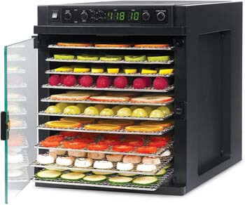 5. Tribest Sedona Express SDE-S6780-B Digital Food Dehydrator