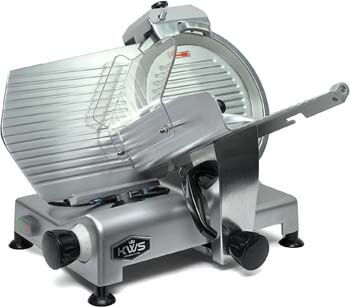 5. KWS MS-12NS Premium Commercial 420w Electric Meat Slicer