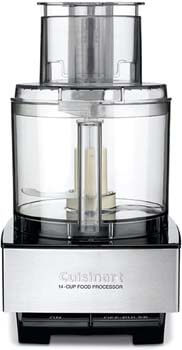 7. Cuisinart DFP-14BCNY 14-Cup Food Processor, Brushed Stainless Steel – Silver