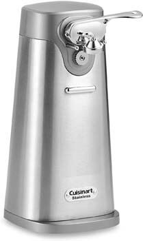 9. Cuisinart Deluxe Stainless Steel Electric Can Opener
