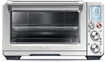 3. Breville BOV900BSS Convection and Air Fry Smart Oven Air, Brushed Stainless Steel