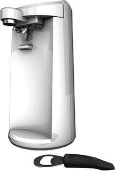 6. BLACK+DECKER EasyCut Extra-Tall Can Opener, White, EC500W