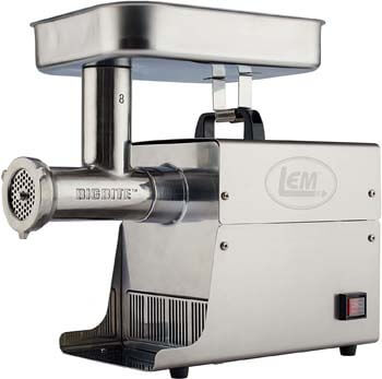 1. LEM Products Stainless Steel Big Bite Electric Meat Grinder