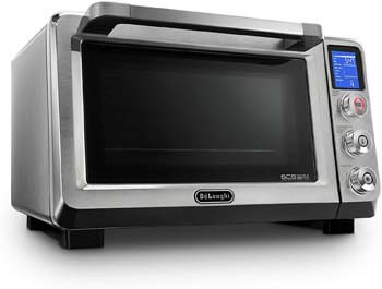 10. DeLonghi EO241150M Livenza Stainless Steel Digital Convection Oven