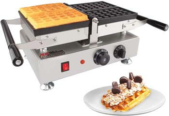 7. ALDKitchen Waffle Maker with Removable Plates
