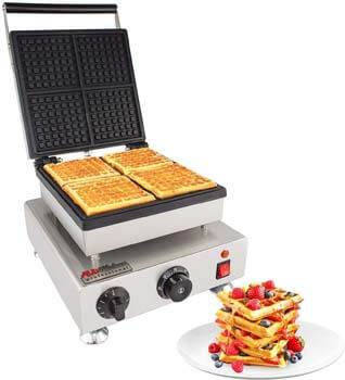 8. ALDKitchen Belgian Waffle Iron
