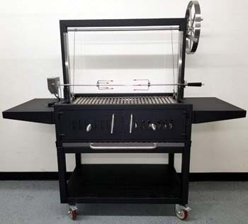 6. MCP Island Grills Black Outdoor Charcoal BBQ
