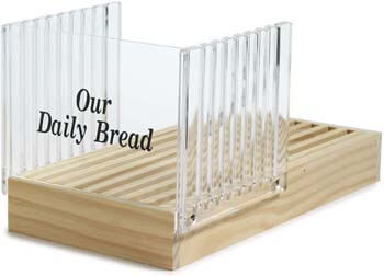 7. Norpro Bread Slicer with Crumb Catcher