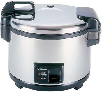 3. Zojirushi NYC-36 20-Cup (Uncooked) Commercial Rice Cooker and Warmer, Stainless Steel