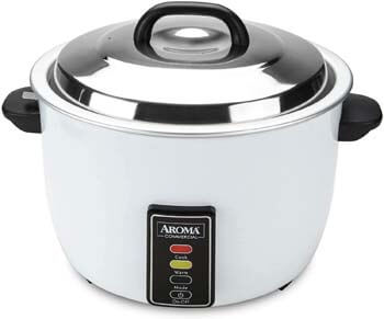 8. Aroma 48-Cup (Cooked) (24-Cup UNCOOKED) Commercial Rice Cooker (ARC-1024E)