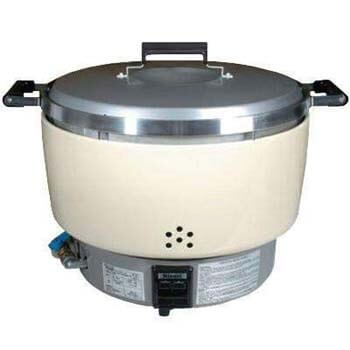 5. Rinnai Rice Cooker 55 Cups NSF Commercial GAS RER55ASL (Propane Gas)