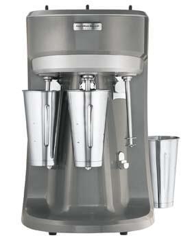 10. Hamilton Beach HMD400 120V Triple Spindle Commercial Drink Mixer