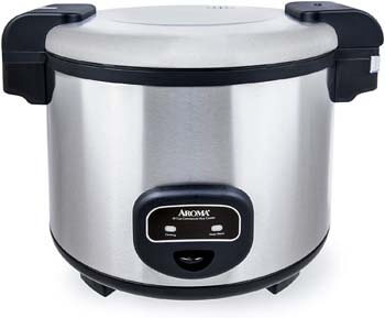 2. Aroma Housewares 60-Cup (Cooked) (30-Cup UNCOOKED) Commercial Rice Cooker