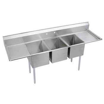 5. Elkay Foodservice 3 Compartment Sink
