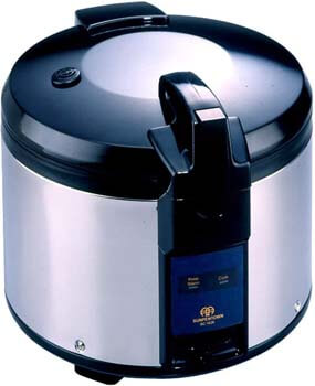 9. SPT SC-1626 26-Cup (Uncooked) Rice Cooker, Black/Silver