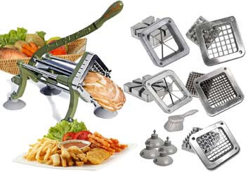 4. Tiger Chef French Fry Cutter Commercial Grade Heavy Duty Vegetable Slicer Machine