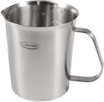 3. Measuring Cup, [Upgraded, 3 Measurement Scales, Including Cup Scale, ML Scale, Ounce Scale]