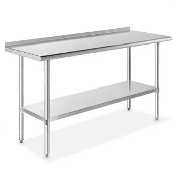 2. GRIDMANN NSF Stainless Steel Commercial Kitchen Prep & Work Table