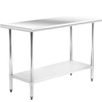 3. Kitchen Work Table Stainless Steel Metal Commercial NSF Scratch-resistant and Antirust Work Table