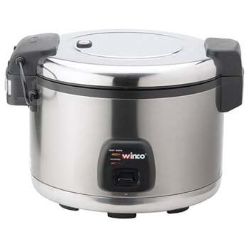 4. Value Series RC-S300 Rice Cooker - 60 Cup, Stainless Steel