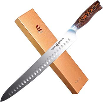 1. TUO Slicing Carving Knife - HC German Stainless steel - Meat Knife