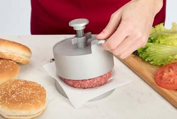 2. Cuisinart CABP-300 Adjustable Burger Press, Makes 1/4lb to 3/4lb Patties