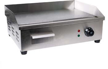 2. WYZworks WYZ-STEAK-OVEN Electric Counter Griddle, Flat, Stainless Steel