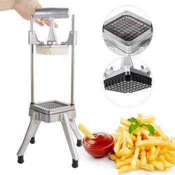 5. Zinnor Stainless Steel Restaurant Commercial Potato Vegetable Fruit Dicer