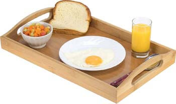 5. HOME IT Serving tray bamboo