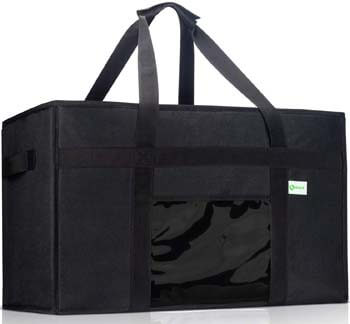 5. KIBAGA Premium Insulated Food Delivery Bag XXL