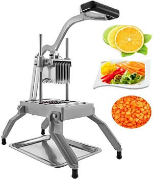 8. Happybuy Commercial Vegetable Fruit Dicer 3/16