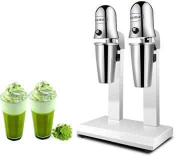 7. KUNHEWUHUA Dual Head Milkshake Soft Ice Cream Mixer Blender