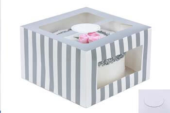 1. Confection Protection Cardboard Cake Boxes