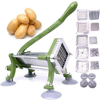 2. French Fry Cutter Commercial Potato Slicer