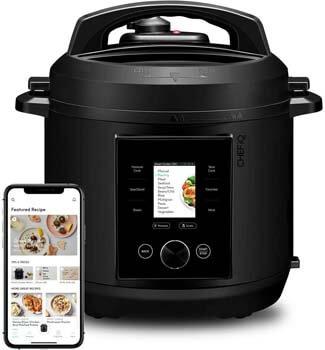 10. CHEF iQ World's Smartest Multi-Functional Smart Pressure Cooker