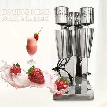 3. Eapmic Double Head Commercial Milkshake Machine