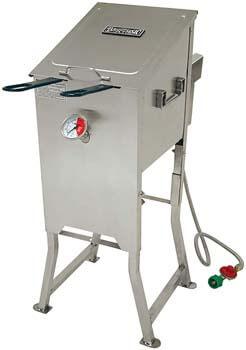 1. Bayou Classic 700-701 4-Gallon Bayou Fryer Stainless Steel