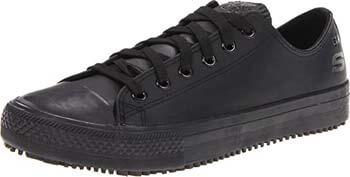 2. Skechers for Work Women's Gibson-Hardwood Slip Resistant Sneaker