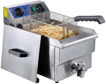 10. Yescom Commercial Professional Electric 11.7L Deep Fryer