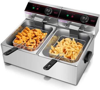 2. Giantex 5000w Electric Countertop Deep Fryer