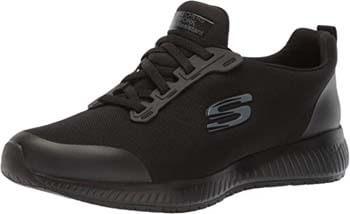 1. Skechers Women's Squad-sr Food Service Shoe