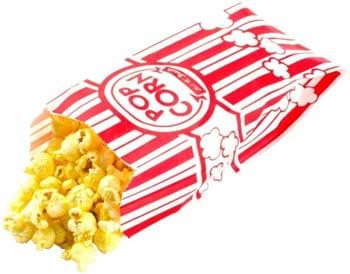 4. Carnival King Paper Popcorn Bags, 1 oz. (100)
