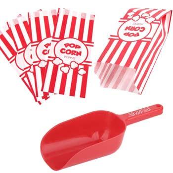 1. Poppy's Popcorn Scoop and Popcorn Bags Bundle